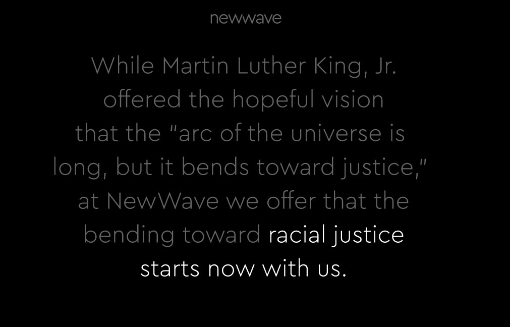 NewWave's Statement on the Recent Deaths of George Floyd, Breonna Taylor, and Ahmaud Arbery